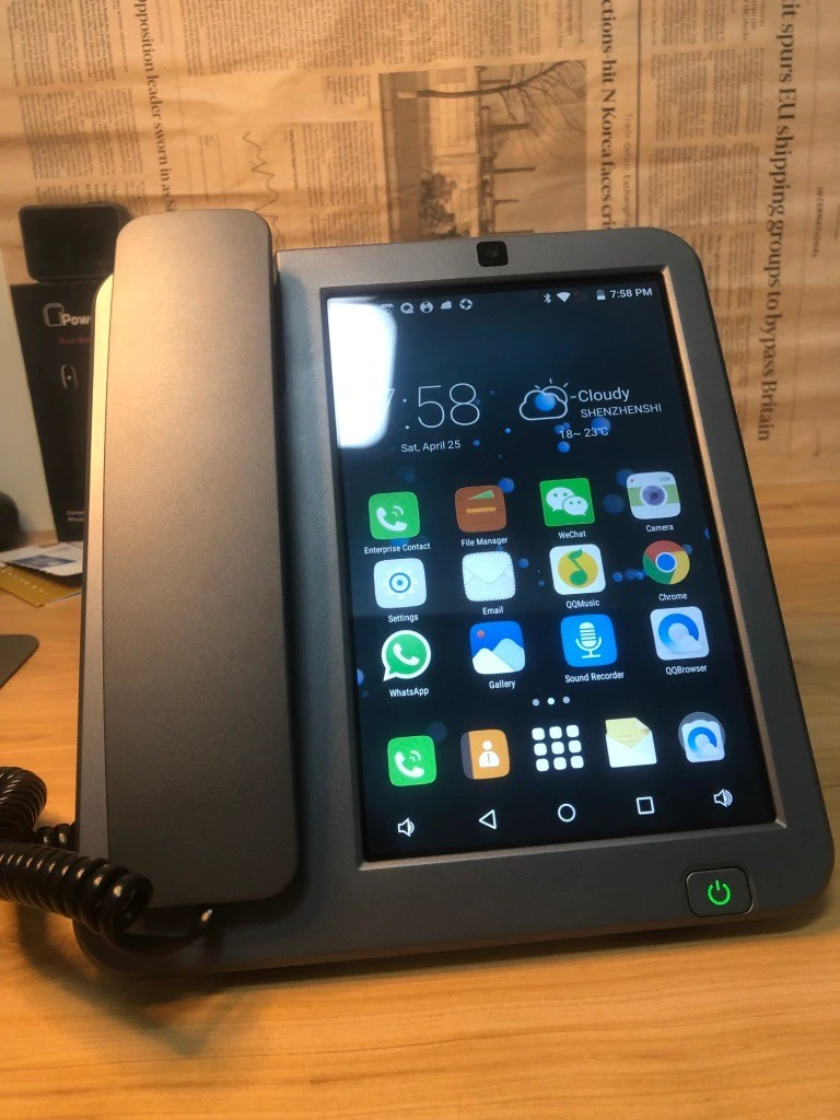 стационарный телефон на андроид