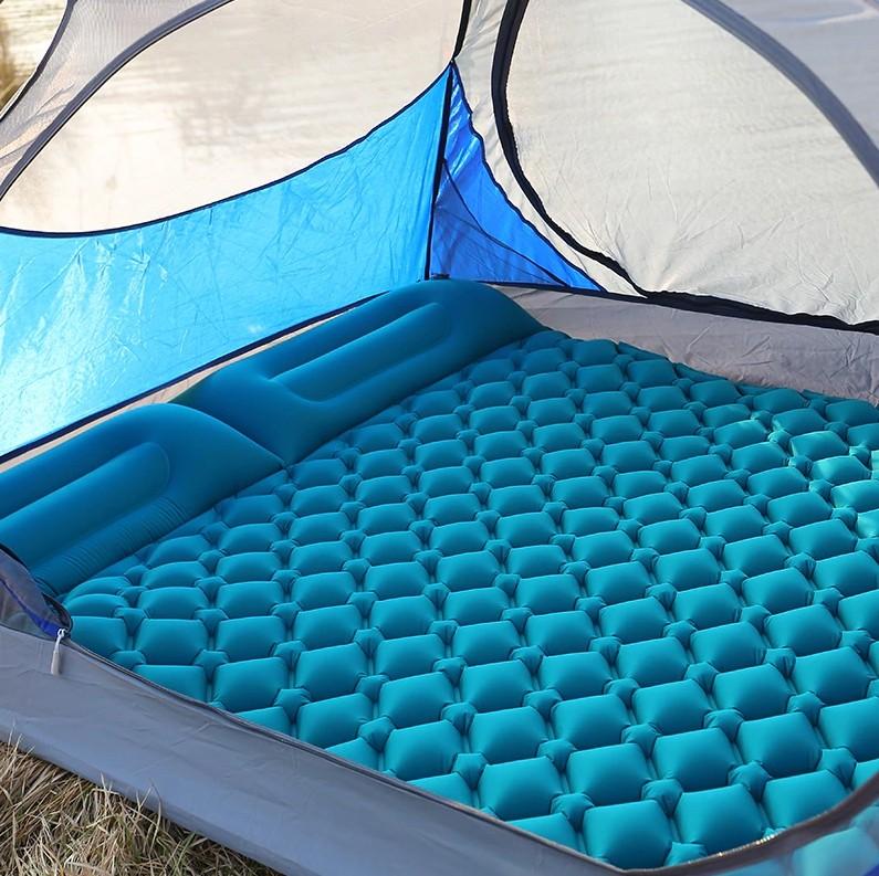 Надувной матрац для пешего туризма, пикника, палатки