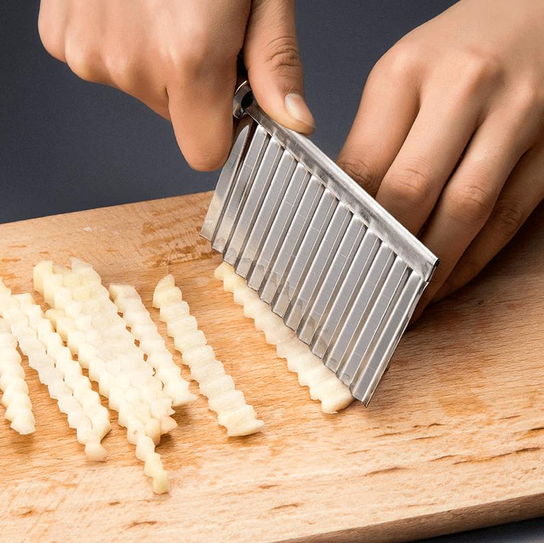 Фигурный нож для резки картофеля, моркови и других овощей