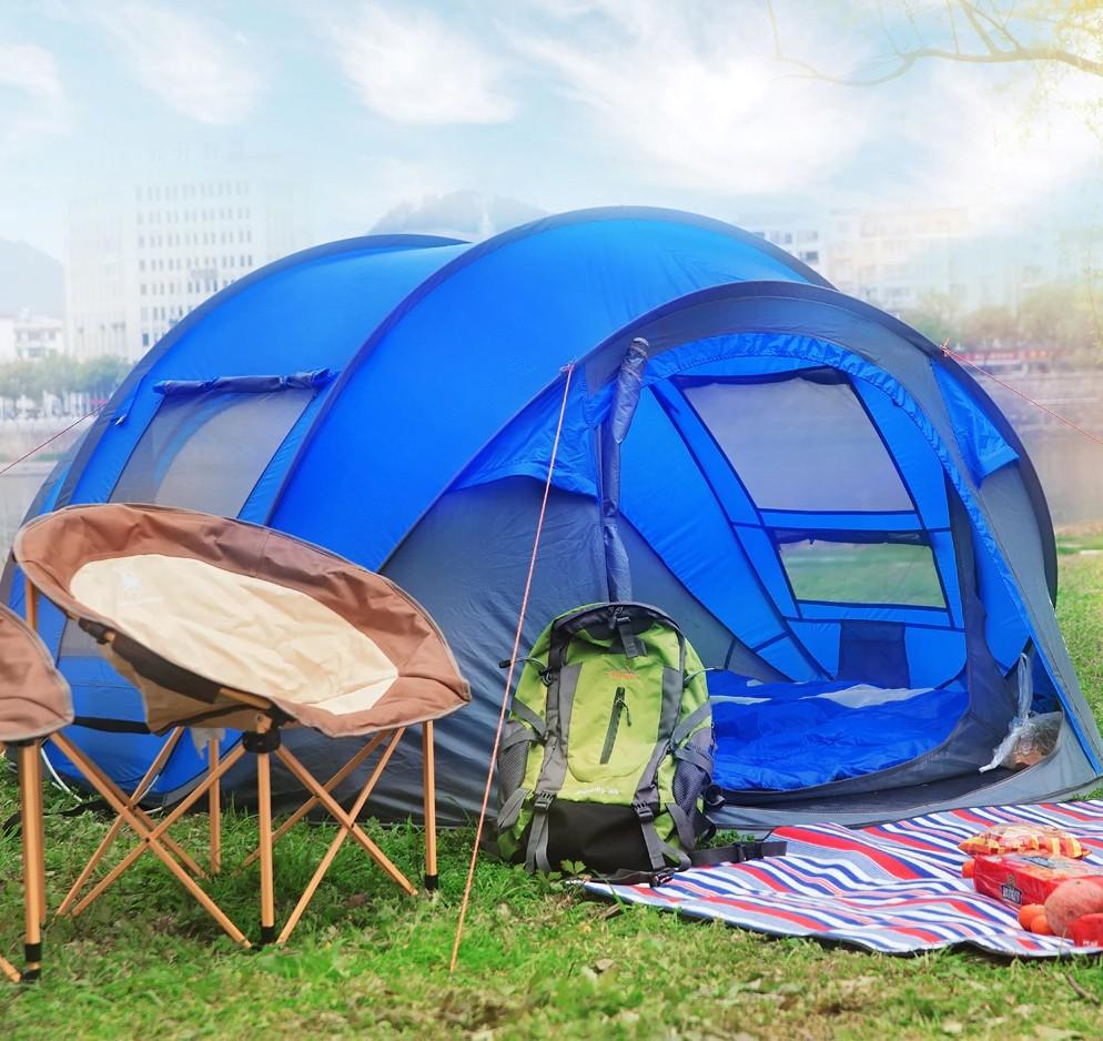 Семейная палатка на 3-4 человека марки Hui Lingyang