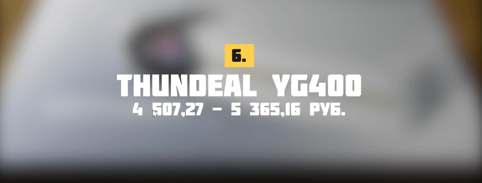Проектор ThundeaL YG400