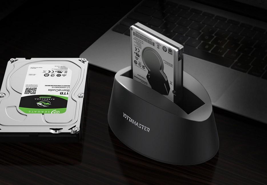 Док станция для HDD/SSD c USB3.1/USB Type-C